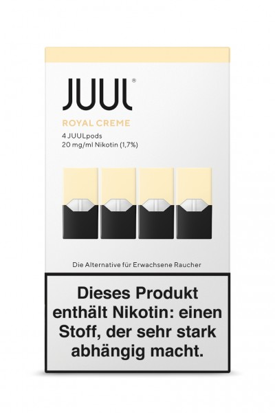 JUUL Pods Royal Creme Liquidpod 4er Set