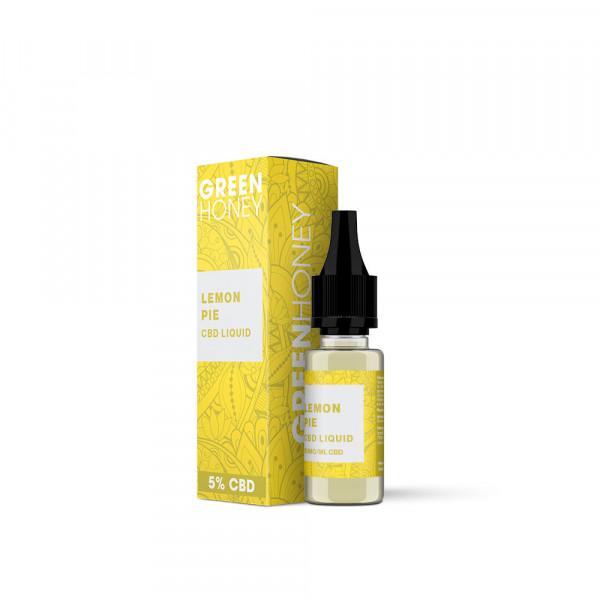 Green Honey CBD Liquid - Lemon Pie