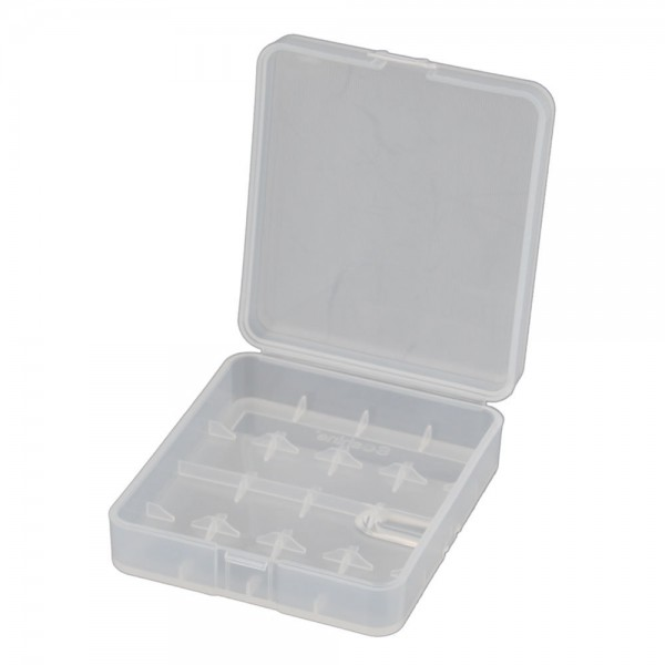 Plastic Battery Case für 18650 /26650 (4-Fach)