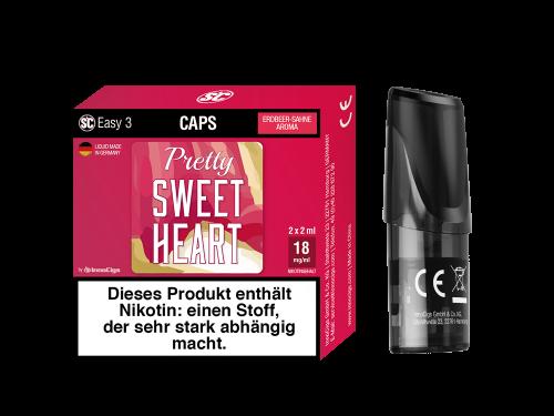 SC Easy 3 Pod Pretty Sweetheart Erdbeer-Sahne Liquidpod 2er Set