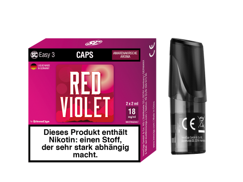 SC Easy 3 Pod Red Violet Kirsche Liquidpod 2er Set