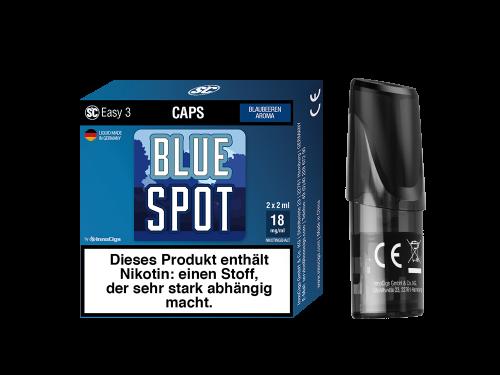 SC Easy 3 Pod Blue Spot Blaubeere Liquidpod 2er Set