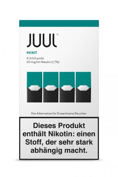 JUUL Pods Mint Liquidpod 4er Set