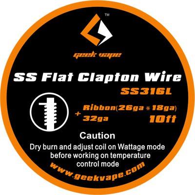 GeekVape Flat Clapton Draht