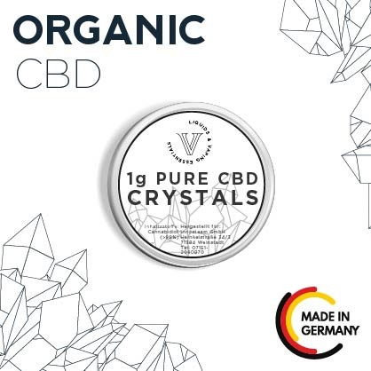 V! Pure CBD Crystals (CBD Isolat)